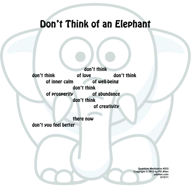 233DontThinkofanElephant