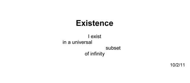 1945Existence