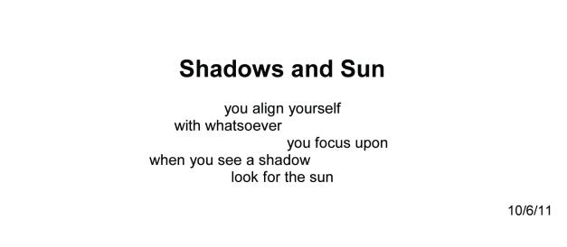 1969Shadows&Sun