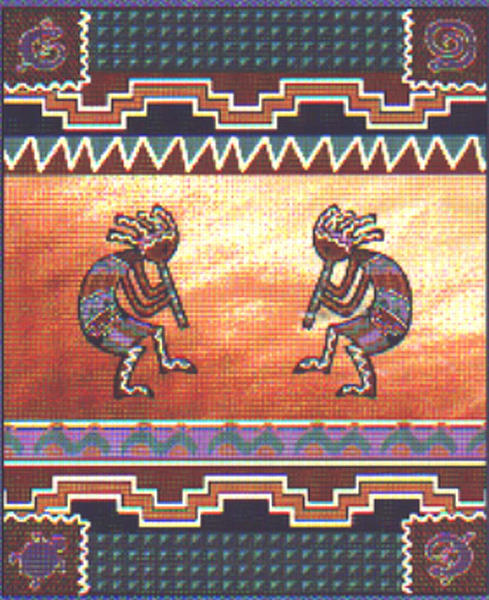 kokopelli.afghan.throw1-e5b48