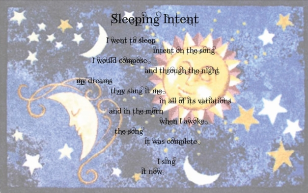 SleepingIntent
